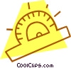 Vector Clipart image  of a ruler