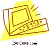 personal computer Vector Clipart picture