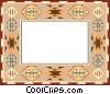 decorative design border Vector Clip Art graphic