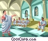 The Roman Senate Vector Clipart picture