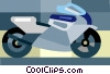 motorcycle Vector Clipart illustration