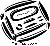beeper Vector Clipart graphic