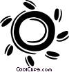 sun icon Vector Clip Art picture