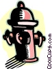Vector Clip Art picture  of a fire hydrant
