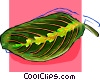 leaf Vector Clipart graphic