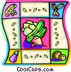 Vector Clip Art graphic  of a vegetables