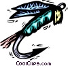 fishing lure Vector Clipart illustration