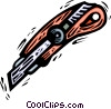 Vector Clip Art graphic  of a exacto knife