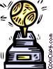 sports trophy Vector Clipart picture