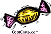 Vector Clipart image  of a hard candy