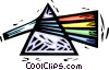 Vector Clipart graphic  of a prism