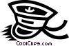 Vector Clipart image  of a sailor's hat