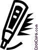 Vector Clip Art graphic  of a marker