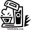Vector Clipart illustration  of a mixers