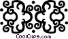 decorative flourishes Vector Clip Art picture