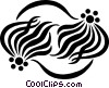 decorative flourishes Vector Clip Art graphic