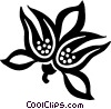 decorative flourishes Vector Clip Art image