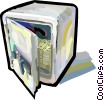 Vector Clipart picture  of a Safe