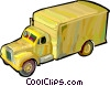 Moving truck Vector Clipart graphic