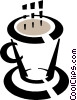 Vector Clipart graphic  of a coffee mug