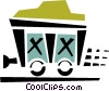 mining car Vector Clip Art picture