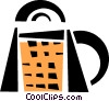 Vector Clip Art picture  of a cheese grater
