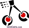 Vector Clip Art picture  of a cherries