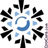 snowflake Vector Clip Art picture