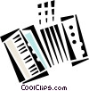 accordion Vector Clip Art picture