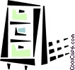 filing cabinet Vector Clipart picture
