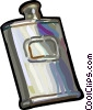 Vector Clip Art image  of a Flask