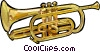 Vector Clipart graphic  of a Trumpet