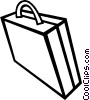 Vector Clipart image  of a briefcase