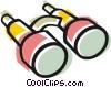 Vector Clipart illustration  of a Binoculars