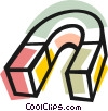 Magnet Vector Clip Art graphic
