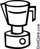 coffee maker Vector Clip Art graphic