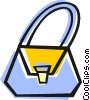 Vector Clipart graphic  of a purse