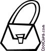 Vector Clipart picture  of a purse