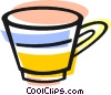 Vector Clipart image  of a coffee cup