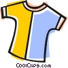 Vector Clipart image  of a shirts