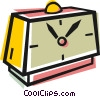 Vector Clip Art image  of an Alarm clock