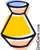 Vector Clip Art graphic  of a vase