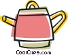 Vector Clipart picture  of a Steam kettle