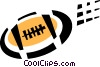 Vector Clipart picture  of a football