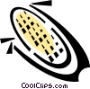 Vector Clip Art graphic  of a corn