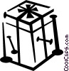 Vector Clip Art image  of a crates/box