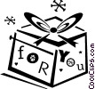 present/gift Vector Clipart picture