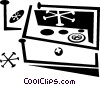 oven Vector Clipart illustration