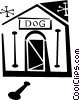 doghouse Vector Clipart picture