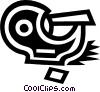 tape dispenser Vector Clip Art graphic